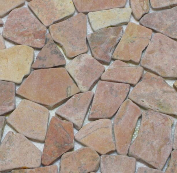 Dusche Naturstein Reinigen : Stein Mosaik Dusche : Dieses Bruchmosaik geh?rt in die Kategorie der