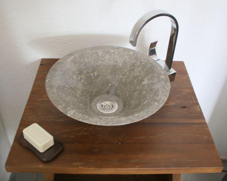 waschbecken stein waschtisch bad marmor naturstein hand restposten, Hause ideen