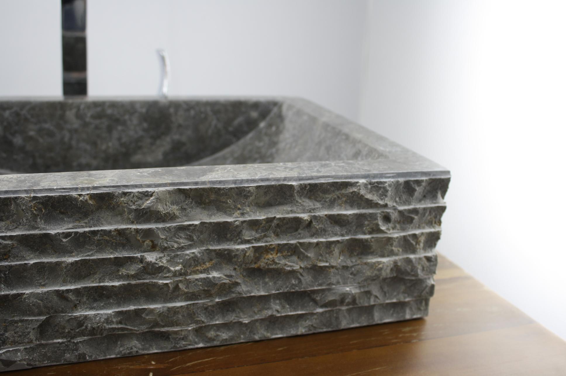 Versiegelung naturstein bad artownit for for Aufsatzwaschbecken naturstein