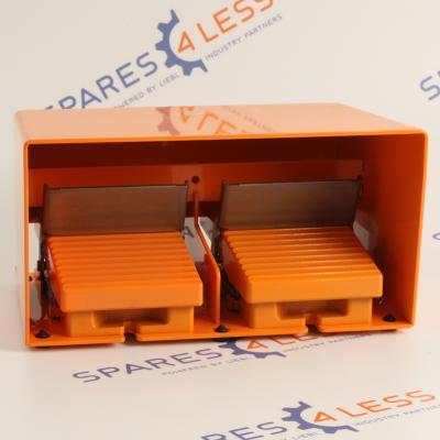 Telemecanique-XPER5100D-Fussschalter-Doppelt-OVP