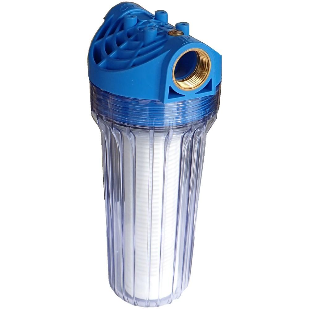 wasserfilter mit filtereinsatz pumpenfilter hauswasserwerk filter ebay. Black Bedroom Furniture Sets. Home Design Ideas