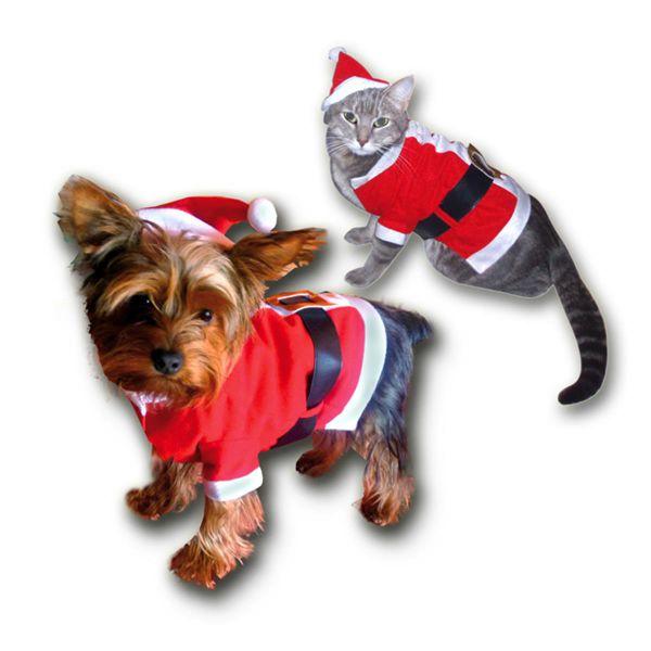 3 teiliges weihnachtskost m f r hunde hundekost m weste katzenkost m katze ebay. Black Bedroom Furniture Sets. Home Design Ideas