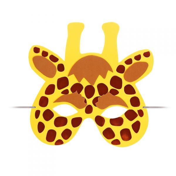 kindermaske giraffe kinder tier maske kost m augenmaske. Black Bedroom Furniture Sets. Home Design Ideas