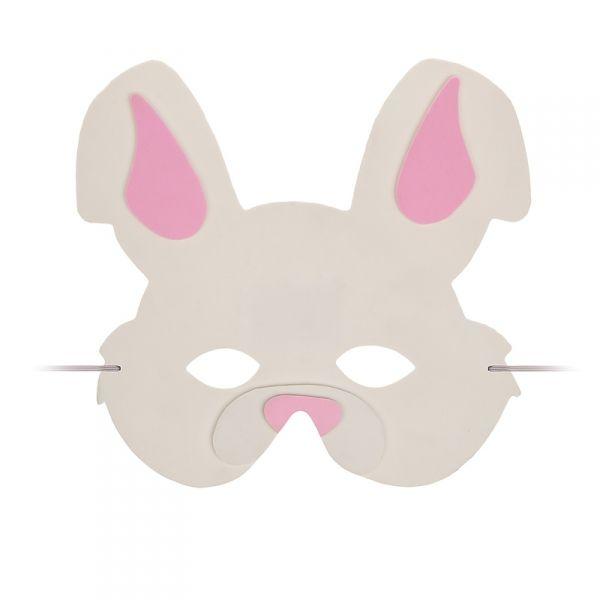 kindermaske hase kinder tier maske kost m zubeh r. Black Bedroom Furniture Sets. Home Design Ideas