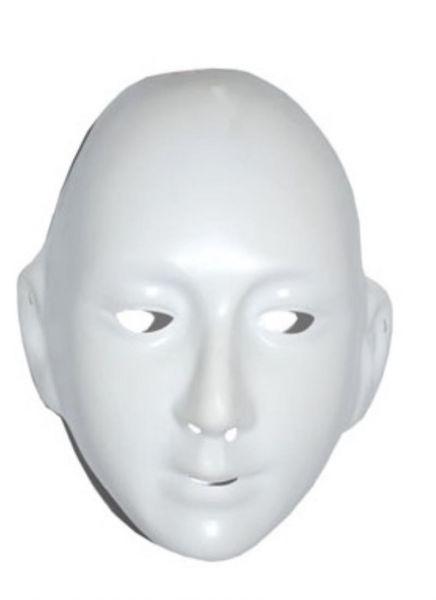 weisse maske zum bemalen masken mann herrenmaske karneval. Black Bedroom Furniture Sets. Home Design Ideas