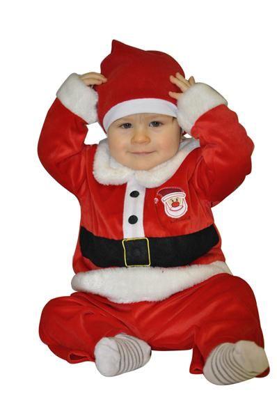 Weihnachtsmann Anzug 1-2 Jahre Weihnachtskostüm Kostüm Weihnachten Kinder