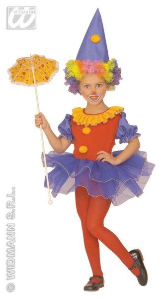 Kinderkostüm Ballerina Clown Fasching Kostüm Kinder Seiltänzerin Tüll Karneval