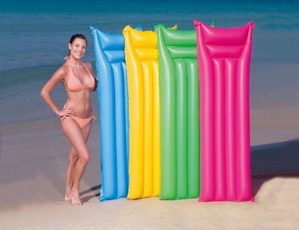 luftmatratze neonfarben wasser meer pool strand neon ebay. Black Bedroom Furniture Sets. Home Design Ideas
