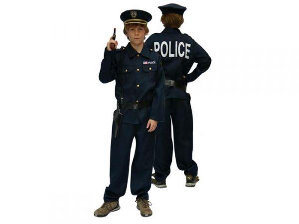 Polizeikostüm für Kinder Fasching Kostüm Polizist Polizei Police