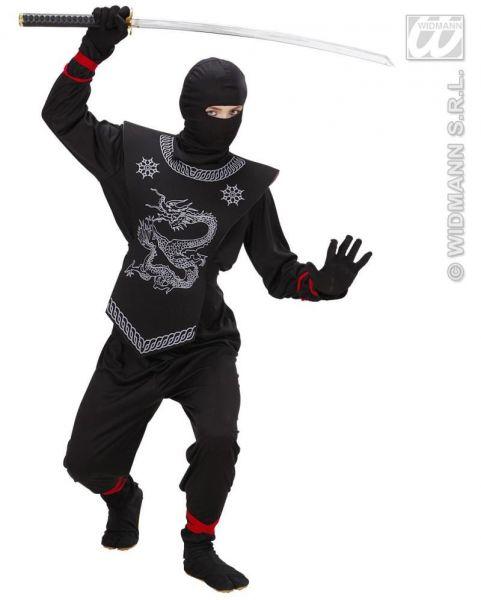 kinderkost m ninja kost m fasching karneval halloween kinder kinderkost m ebay. Black Bedroom Furniture Sets. Home Design Ideas