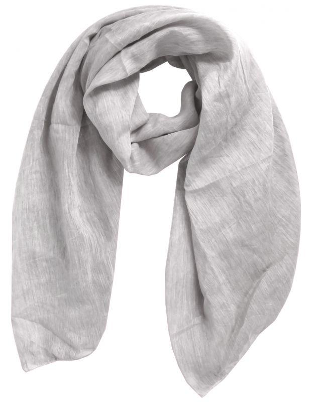 dc6ad0694c675a Damen Schal Tuch Halstuch unifarben meliert Made in Italy Baumwolle Seide