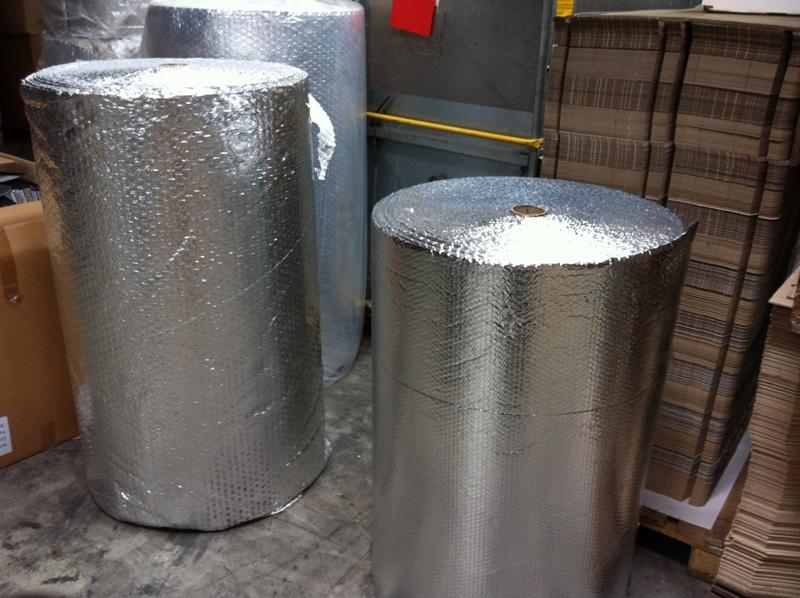 20m x 2m luftpolsterfolie thermofolie beidseitig alu kaschiert 40m2 ebay - Thermofolie fenster ...