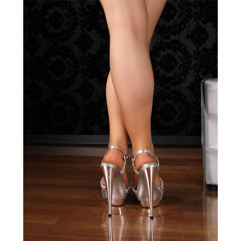 edle plateau sandaletten abendschuhe high heels strass silber hp540. Black Bedroom Furniture Sets. Home Design Ideas