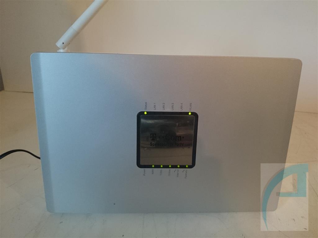 speedport w701v wlan router voip w 701 w701 modem tk. Black Bedroom Furniture Sets. Home Design Ideas