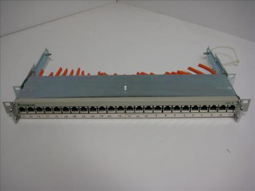 Ackermann-Rangierfeld-Patchfeld-19-Zoll-Cat-5-LSA-24-Ports