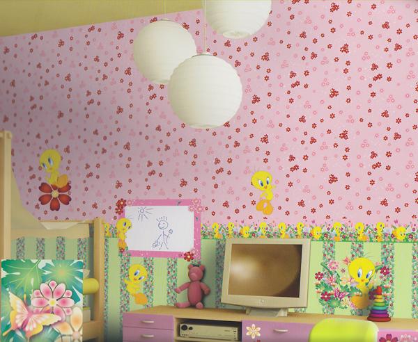 wonderland tweety tapeten bord re 318400 selbstklebend euro pro m ebay. Black Bedroom Furniture Sets. Home Design Ideas
