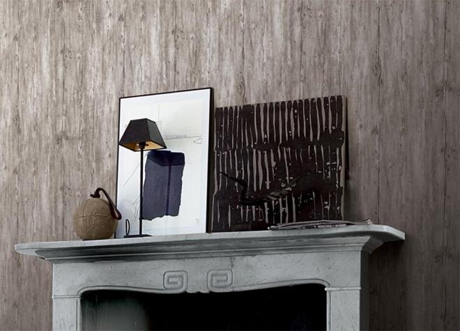 the serendipity vinyl tapete holz dekor grau sd101151 euro pro m ebay. Black Bedroom Furniture Sets. Home Design Ideas
