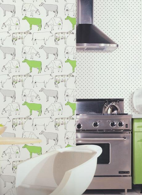 Style de cuisine 2 papier peint en vinyle petits points for Papier peint vinyl cuisine
