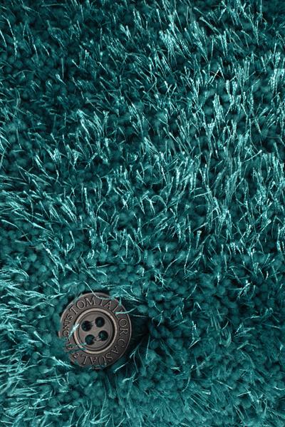 hochflor teppich shaggy tom tailor soft uni t rkis in 8 gr en erh ltlich ebay. Black Bedroom Furniture Sets. Home Design Ideas
