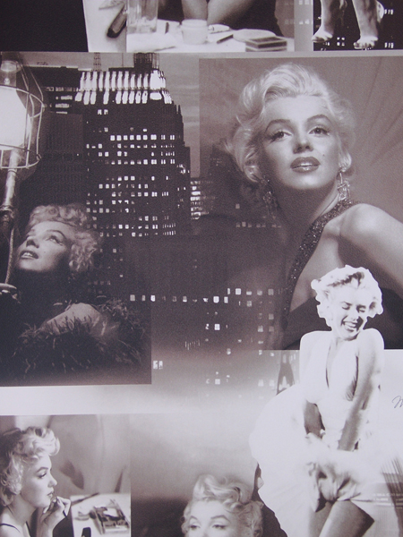 marilyn monroe tapeten teenie tapete 12101209 ebay. Black Bedroom Furniture Sets. Home Design Ideas