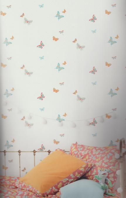 Kinderzimmer Tapete Schmetterling : Girls Only Kinderzimmer Tapete Schmetterling GLN 6197 4015 (5.62 Euro