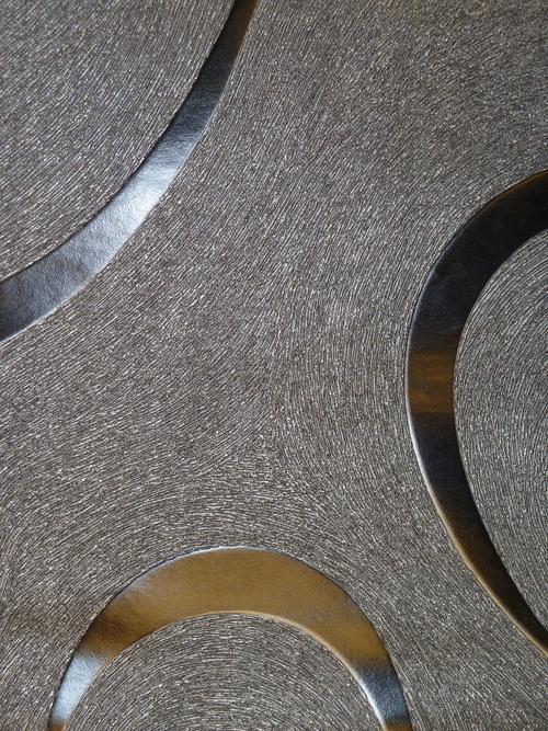 Colani visions vlies tapete schwarz silbermetallic 53340 for Luigi colani tapete visions