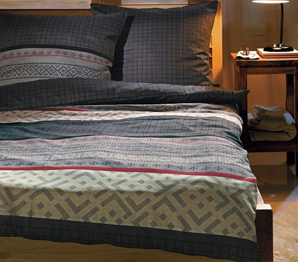 s oliver feinflanell wende bettw sche 6044 800 ebay. Black Bedroom Furniture Sets. Home Design Ideas