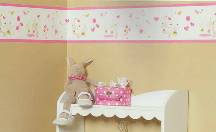 wonderland kinderzimmer bord re miss mouse gr n wdl 5959 7079 euro pro m ebay. Black Bedroom Furniture Sets. Home Design Ideas