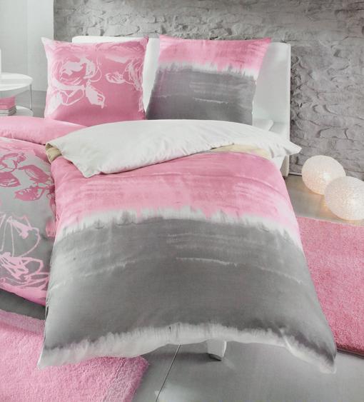 kleine wolke mako satin bettw sche long beach hellrosa 457 ebay. Black Bedroom Furniture Sets. Home Design Ideas