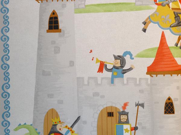 Tapeten Kinderzimmer Ritter ~ Fabelhafte Design Ideen für Haus und Möbel