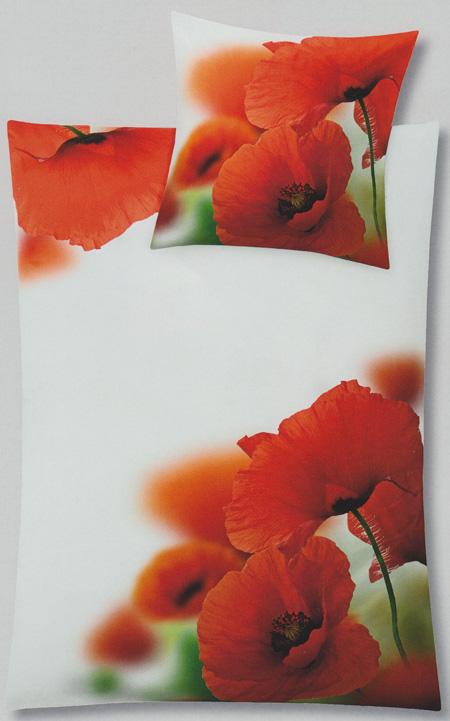 small cloud mako satin bed linen poppy paprika 455 in 2. Black Bedroom Furniture Sets. Home Design Ideas