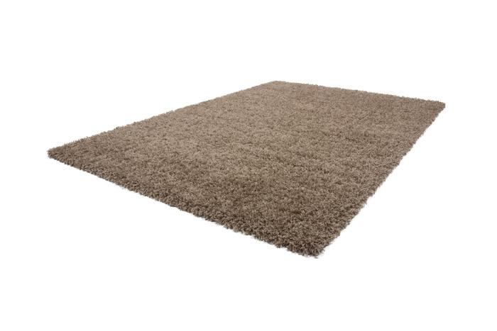 poil haut tapis shaggy tapis douillet shg 100 marron clair hauteur 5 cm. Black Bedroom Furniture Sets. Home Design Ideas