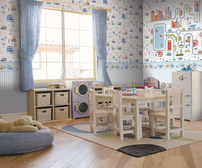 coconet kinderzimmer tapeten bord re 319360 city selbstklebend euro m ebay. Black Bedroom Furniture Sets. Home Design Ideas