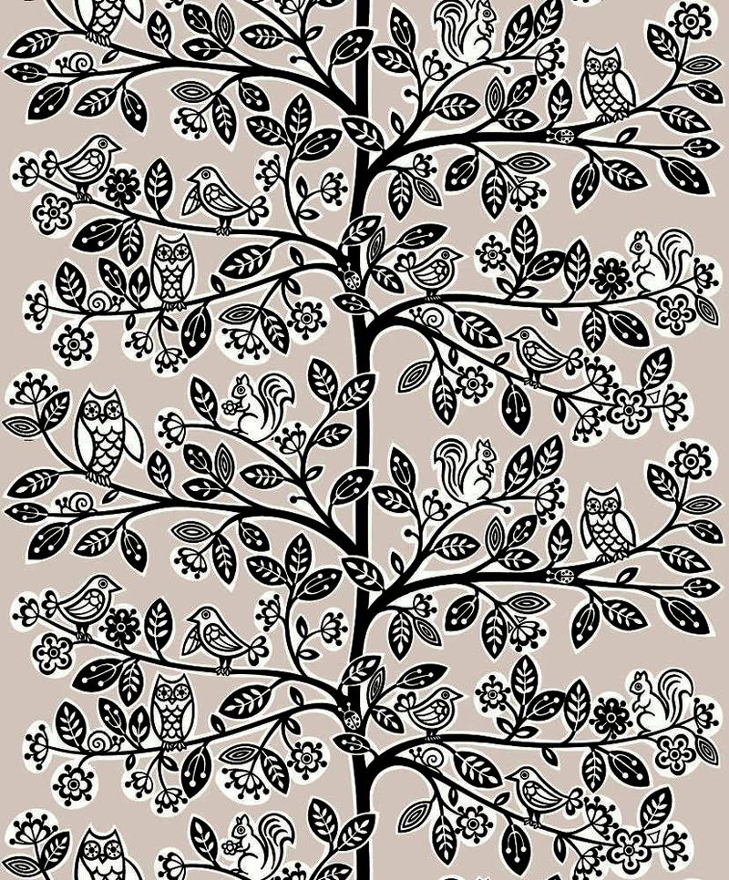 Kinderzimmer Tapete Vlies : Jack'n Rose Kinderzimmer Vlies-Tapete LL-06-22-2 V?gel/Baum (4,87