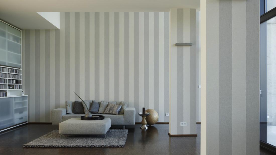 grau wei e tapete die neuesten innenarchitekturideen. Black Bedroom Furniture Sets. Home Design Ideas