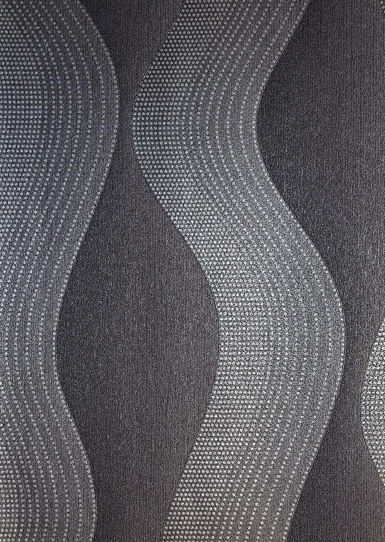 dieter bohlen graceful streifen wellen vlies tapete 02427 30 grau 4 18 euro m ebay. Black Bedroom Furniture Sets. Home Design Ideas