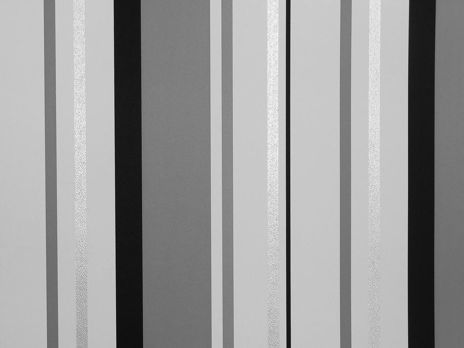 Les aventures streifen tapete 13052909 schwarz grau silber for Tapete schwarz silber