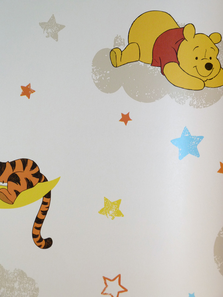 Kids home wallpaper kids room df70799 winnie pooh rise and for Home wallpaper ebay