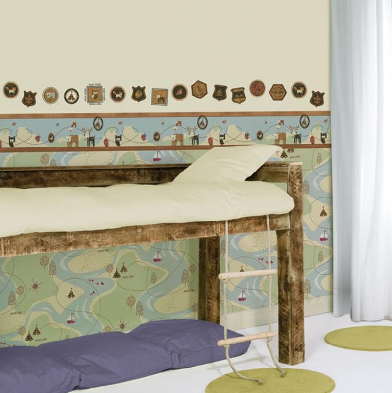kids home tapete kinderzimmer tapeten 50 572 forager wallpaper euro m ebay. Black Bedroom Furniture Sets. Home Design Ideas