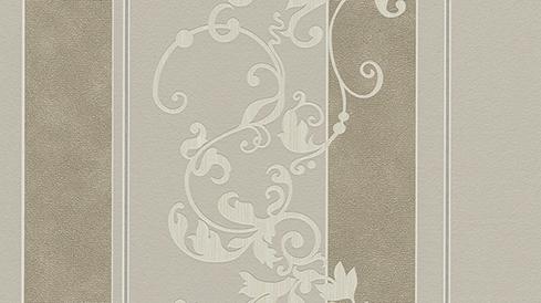myself vlies tapete ornamente beige grau 6858 38 glimmer. Black Bedroom Furniture Sets. Home Design Ideas