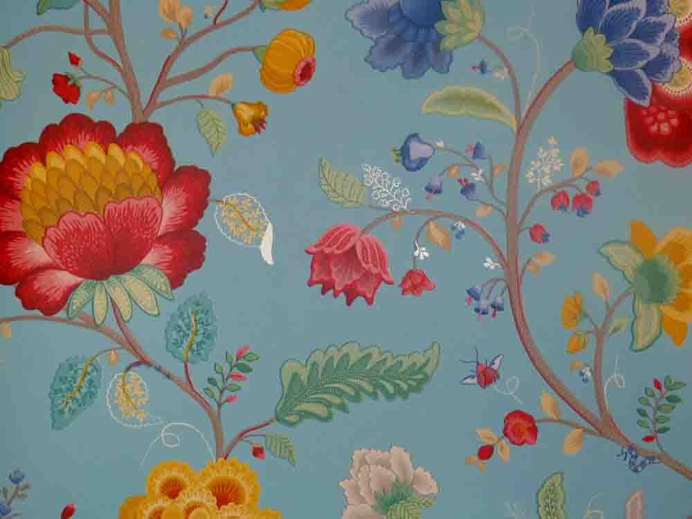 pip studio vlies tapete 341035 floral blau vintage euro pro m ebay. Black Bedroom Furniture Sets. Home Design Ideas