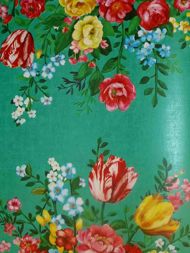 pip studio vlies tapete 341046 floral gr n blumen. Black Bedroom Furniture Sets. Home Design Ideas