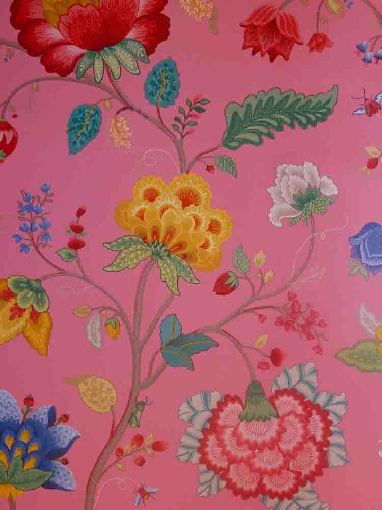 Pip studio vlies tapete 341031 floral pink vintage - Pip studio tapete ...