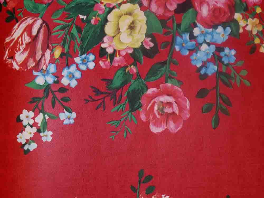 pip studio vlies tapete 341042 floral rot blumen blumenstrau euro m ebay. Black Bedroom Furniture Sets. Home Design Ideas
