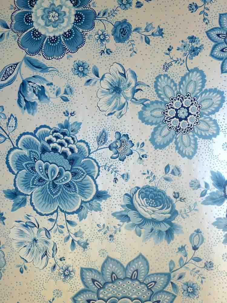 pip studio vlies tapete 341012 floral blumen flower blau. Black Bedroom Furniture Sets. Home Design Ideas