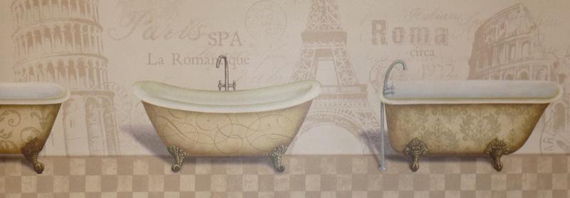 aquarius k b tapeten bord re g90011 borte badewanne ebay. Black Bedroom Furniture Sets. Home Design Ideas