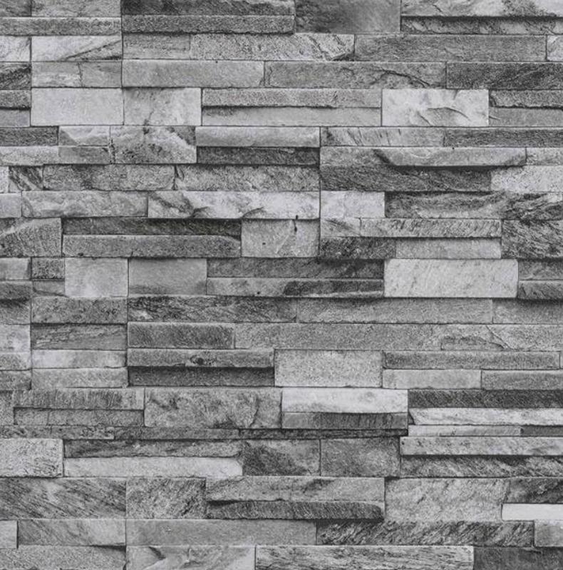 Origen fieltro papel pintado pared de ladrillo aspecto for Papel piedra pared