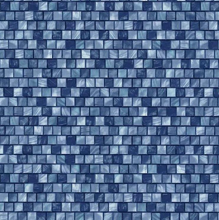 origin vlies tapete 42103 10 mosaik fliesen blau t rkis metallic euro m ebay. Black Bedroom Furniture Sets. Home Design Ideas