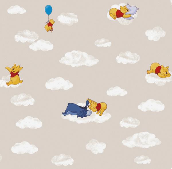 Disney deco winnie pooh tappezzeria carta da parati per for Tappezzeria bambini