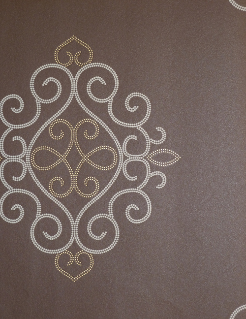 In the air ornament tapete braun ita 5941 1190 caselio ebay for Ornament tapete